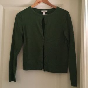 Ann Taylor Loft Cardigan Button Down Sweater